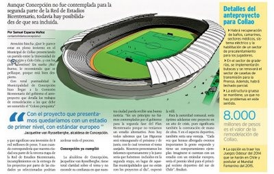 proyecto de remodelacion estadio de Concepción - año 2009.  Tampoco pasó nada.