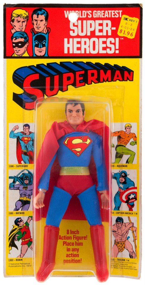 A FyndIt member is searching for a World's Greatest Super-Hero Superman action figure. They are offering a $10.00 reward to the person who can help locate one in good condition still in the original packaging. Earn money helping others find vintage action figures, comic books and figurines at FyndIt. #Vintage #ActionFigures #Superman