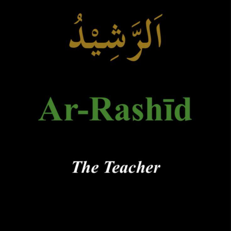 """""""Ar-Rashid"""""""