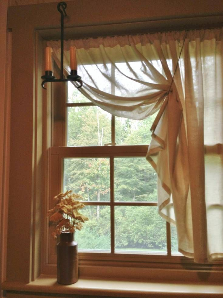 1000 ideas about small windows on pinterest small window curtains small window treatments Bathroom valances for windows