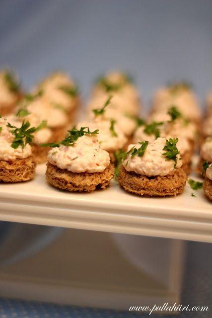 Pullahiiren leivontanurkka: Cocktailpalat (kinkku)