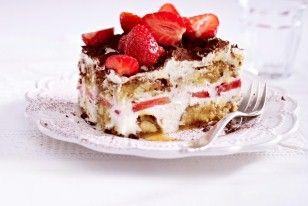 LECKER: Cantuccini-Tiramisu mit Erdbeeren