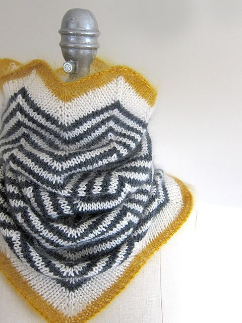 492 best cowls infinity scarfs images on pinterest cowls a fun and cozy cowl knit in the round from the top down around the chest and shoulders the dark and light stripes create a modern graphic look while the fandeluxe Choice Image