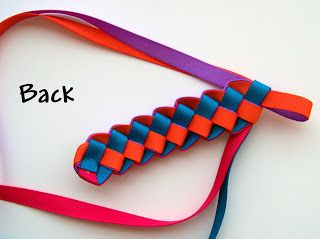 Military Braid Headband by MakeBowsandMore.com: 4 Color Braided Headband