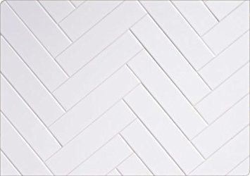 White 3x12 Thick Clay Body Subway Tile Backsplash 3x12 Backsplash Body Clay Subway