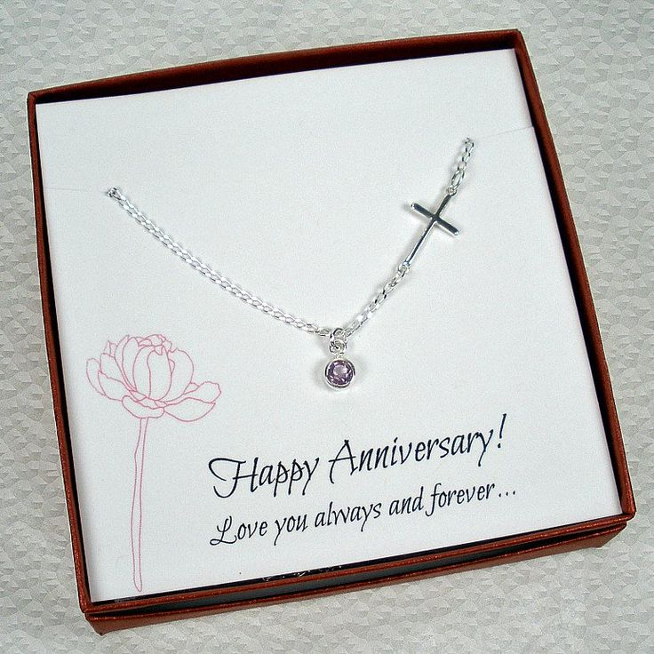 Meaningful Wedding Anniversary Gift for Wife, Gemstone