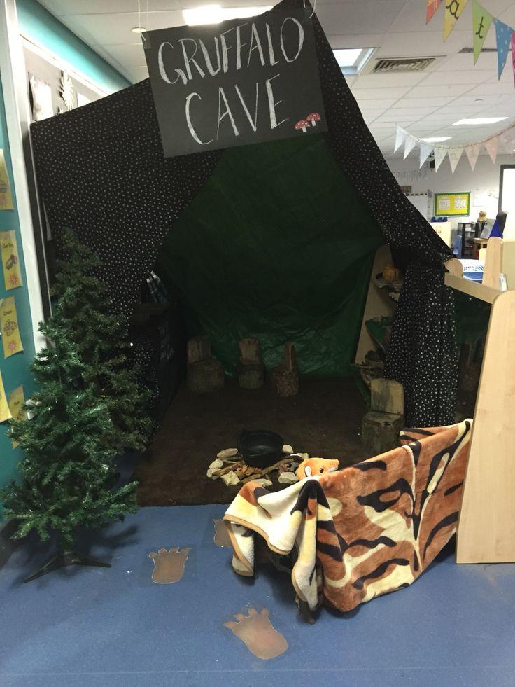 Gruffalo cave role play area