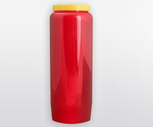 Bougie neuvaine rouge (brûle 9 jours)