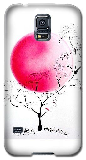 Joy Of Life Galaxy S5 Case Printed with Fine Art spray painting image Joy Of Life by Nandor Molnar (When you visit the Shop, change the orientation, background color and image size as you wish)