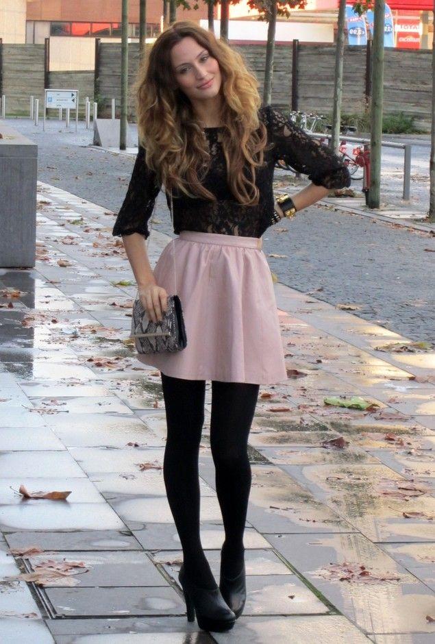 Falda para invierno