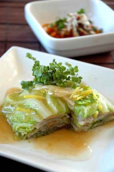 白菜と豚肉の重ね蒸し。 by 川島令美   レシピサイト「Nadia ...