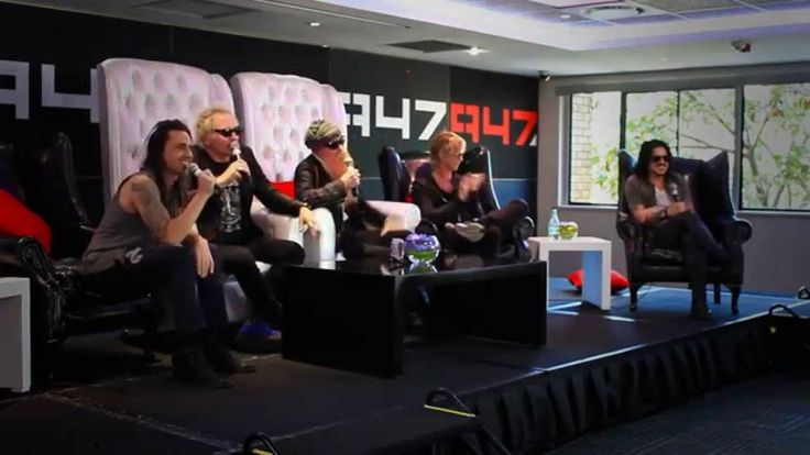KINGS OF CHAOS - Press conference - Johannesburg - 26/11/14 - Press Conference for Kings of Chaos in Johannesburg, South Africa. With Matt Sorum, Billy Gibbons, Nuno Bettencourt, Duff McKagan & Gilbey Clarke.