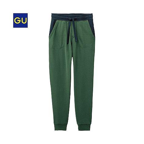(GU)スウェットパンツ(カラーブロック)A - GU ジーユー