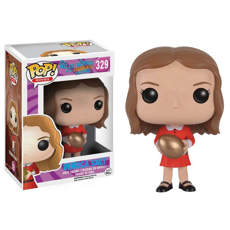 Funko Willy Wonka And The Chocolate Factory POP Veruca Salt Vinyl Figure