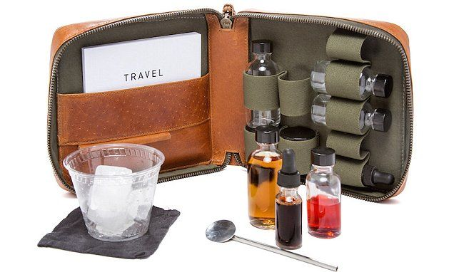 New carry on cocktail-making are kits giving passengers the chance to flex their mixology skills while at 30,000 feet.