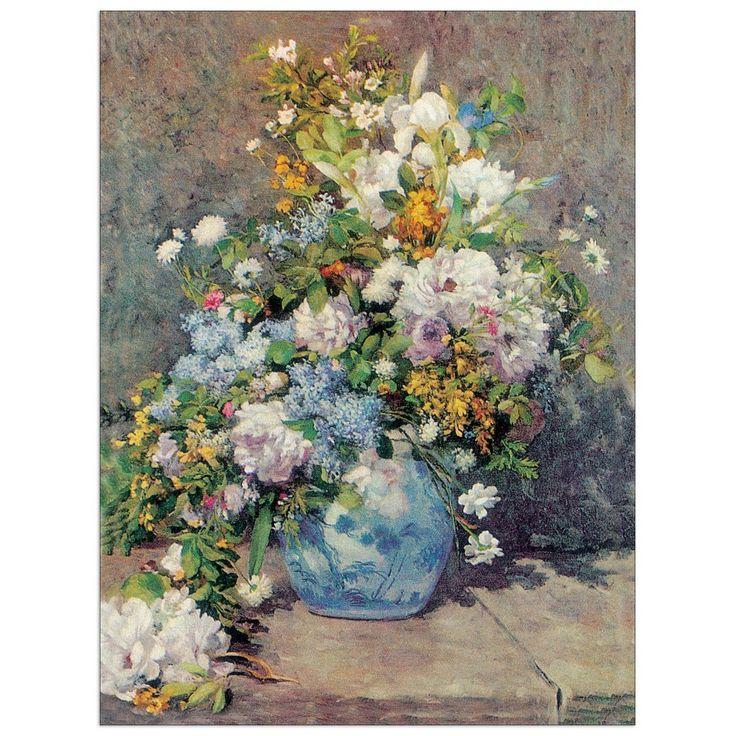 RENOIR - Spring Flowers 80x60 cm #artprints #interior #design #art #prints #nature #stilllife Scopri Descrizione e Prezzo http://www.artopweb.com/EC22017