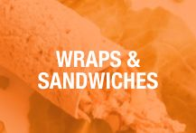 Keep it light with these skinny wraps and sandwiches.