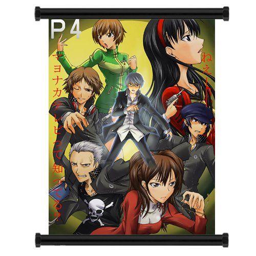 Shin Megami Tensei Persona 4 Game Fabric Wall Scroll Poster (16x21) Inches
