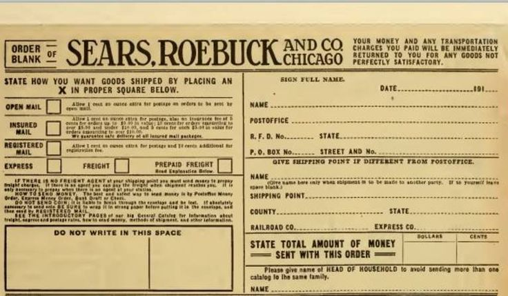 old sears and roebuck forms - Google Search Old Forms Pinterest - money order form