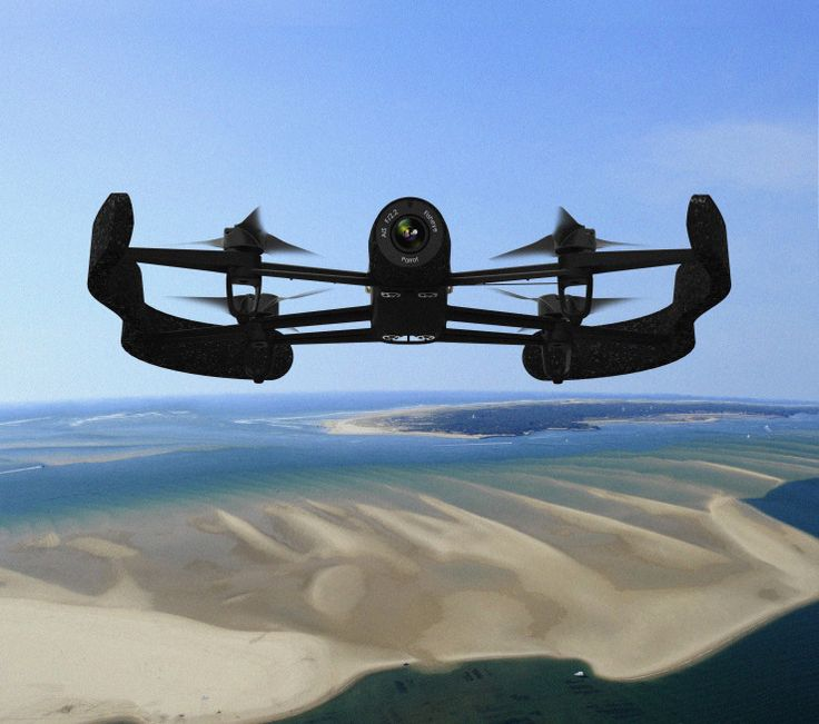Parrot's Newest Drone Packs A Serious Camera, Extreme Range -Posted by Matt Burns
