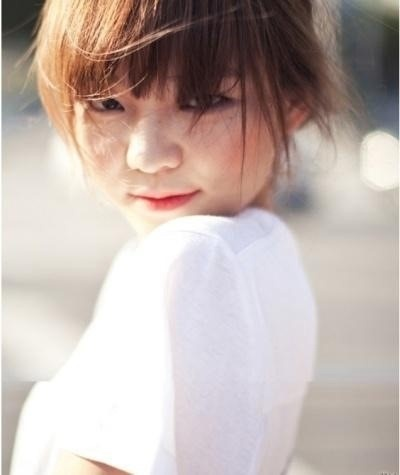 Yi Som, South Korean model and actress...adorable baby-face!