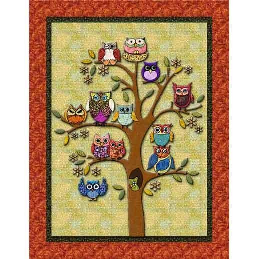.: Owl Trees, Sewing, Crafts Ideas, Life, Owl Quilts Patterns, Families Trees, Sconces, Trees Quilts, Hoot