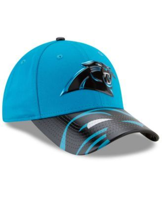 New Era Women's Carolina Panthers 2017 Draft 9FORTY Cap - Blue Adjustable