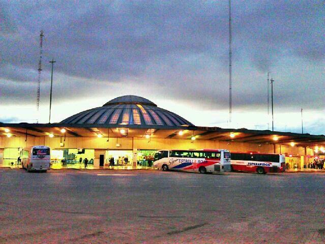 Terminal de Autobuses de Pasajeros de Oriente (TAPO) en Venustiano Carranza, Distrito Federal