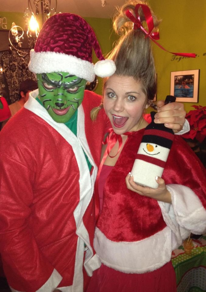 christmas costume party. this is how we do it.
