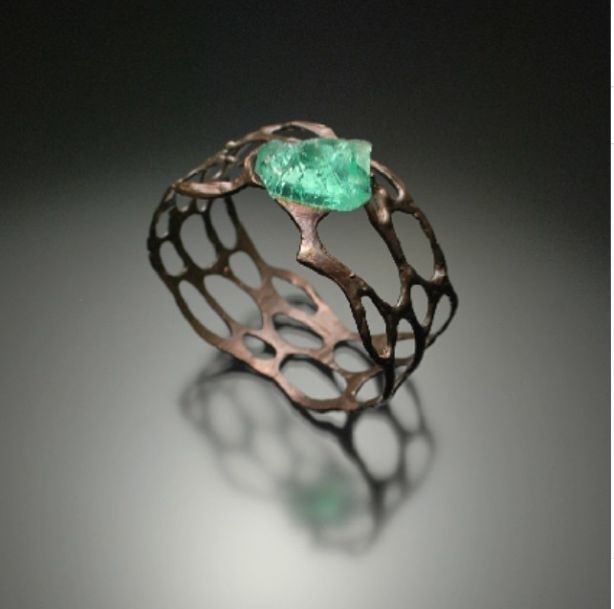 Sea glass bracelet (Joe Anglim jewellery)