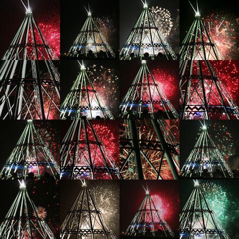 Canada Day Fireworks at the Saamis Teepee | Editing Luke