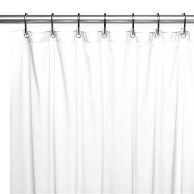 Carnation Home Fashions SC-JUMBO Jumbo 8 Gauge Vinyl Shower Curtain Liner