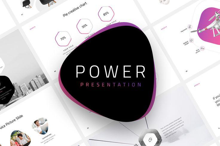 """다음 @Behance 프로젝트 확인: """"Power-Minimal Presentation Template"""" https://www.behance.net/gallery/43651757/Power-Minimal-Presentation-Template"""
