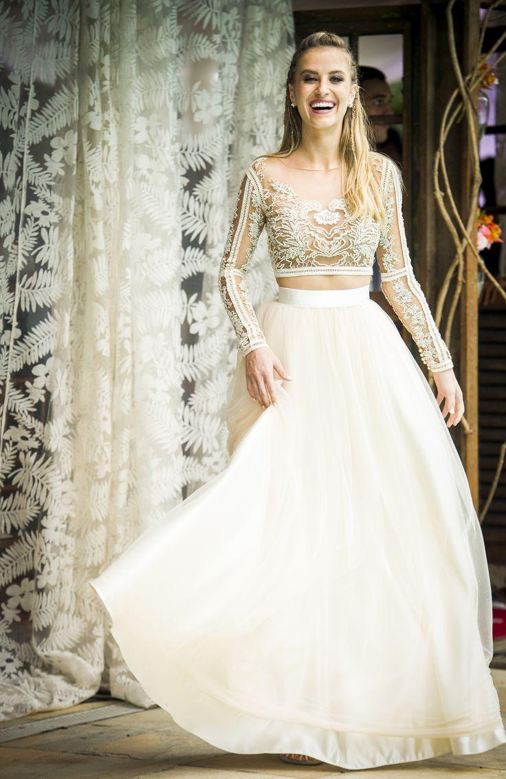 O vestido de noiva da Barbara deu o que falar em #Malhação! Lindo de viver!