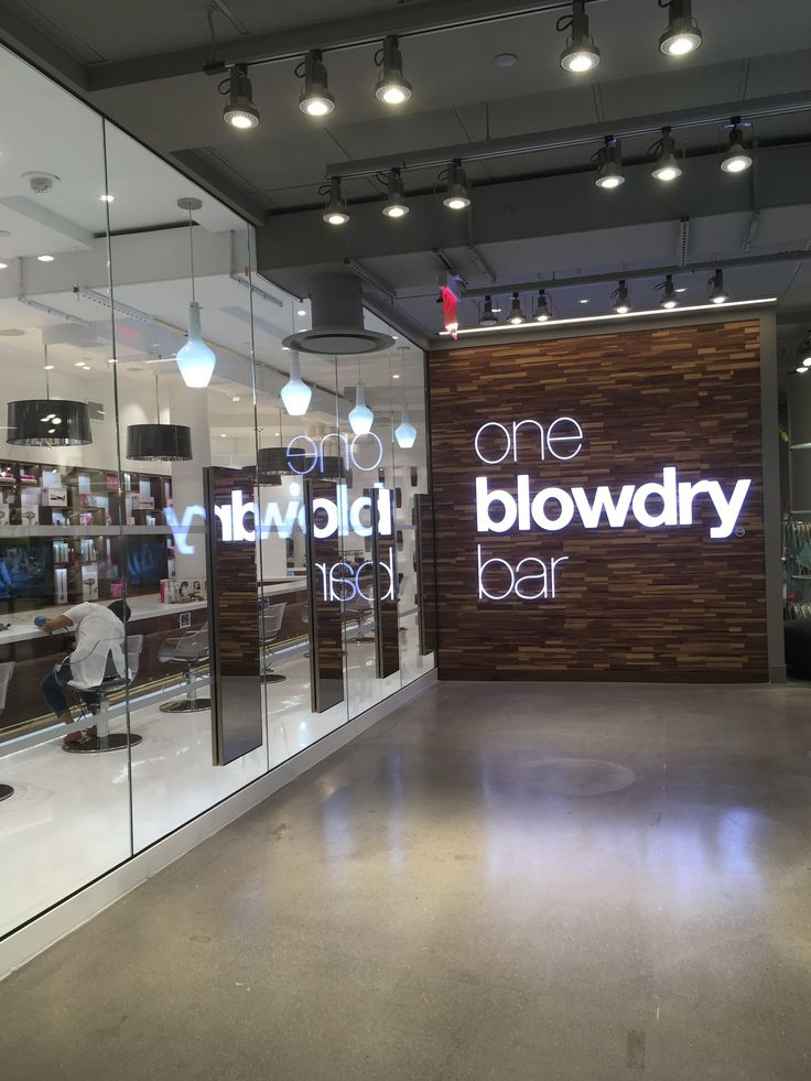 oneblowdrybar Midtown Premier Blow Dry-bar Destination Of The Ultimate Blow-Dry Hair inside Macy's Herald Square in New York City. Beauty Bar , Drybar Midtown, Drybar NYC