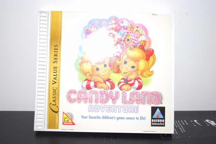 1997 Hasbro Candy Land  Adventure Cd  Rom Kids Computer Game Win/Mac