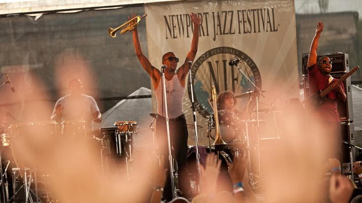 Newport Jazz Festival.
