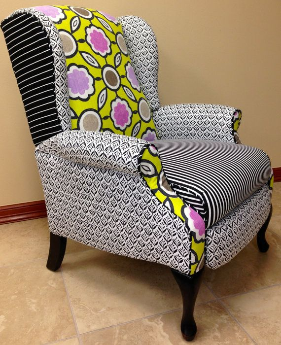 wingback recliner chair