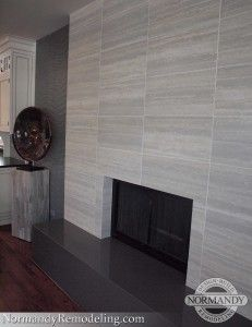Nic86Marked 231x300 (231×300) · Fireplace TilesFireplace Remodel Fireplace DesignModern FireplaceContemporary FireplacesTravertine TileFocal  PointsHearth ...