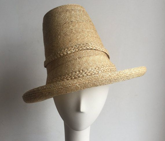 Raleigh Straw Hat by IgnatiusHats on Etsy