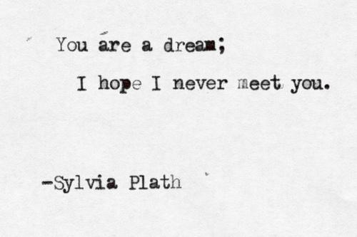 Obligatory Sylvia Path quote.