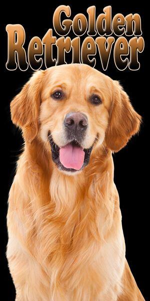 Golden Retriever Breed Dog Puppy Pool Bath Beach Souvenir Towel 30X60 NEW Pet #IslandGear