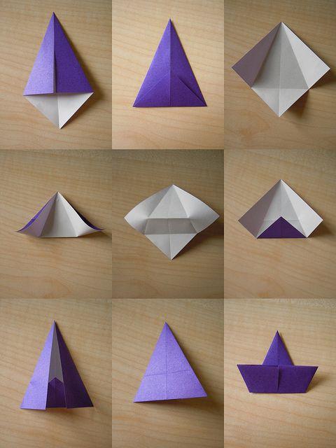 Make A Origami Christmas Tree