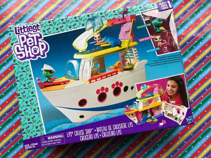 FUN gift alert! Littlest Pet Shop Cruise Ship