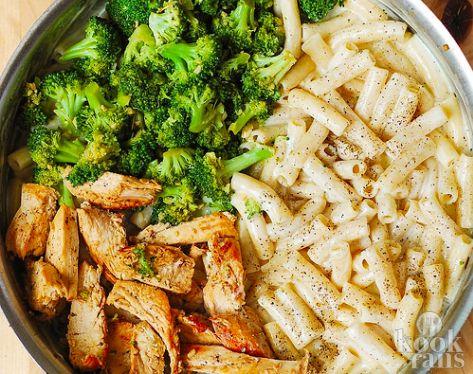 Alfredo-pasta volgens Italiaans recept! Wij begonnen spontaan te watertanden bij het zien van deze overheerlijke Alfredo-pasta met kip en broccoli! Daarom delen we vandaag het recept van deze pasta met jullie. Zet jij hem vanavond op tafel?  Misschien komt de naam 'Pasta Alfredo' je wel bekend vo