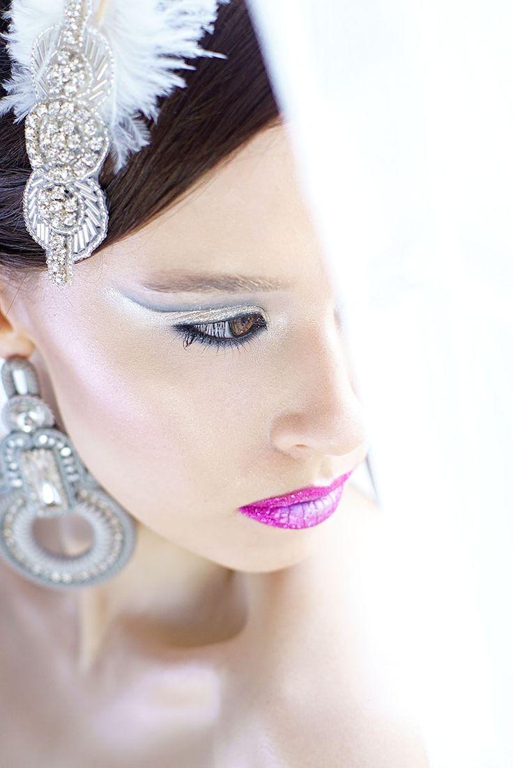 Cut Crease, weeding makeup, weeding creative makeup. Makijaż slubny, makijaż ślubny artystyczny.