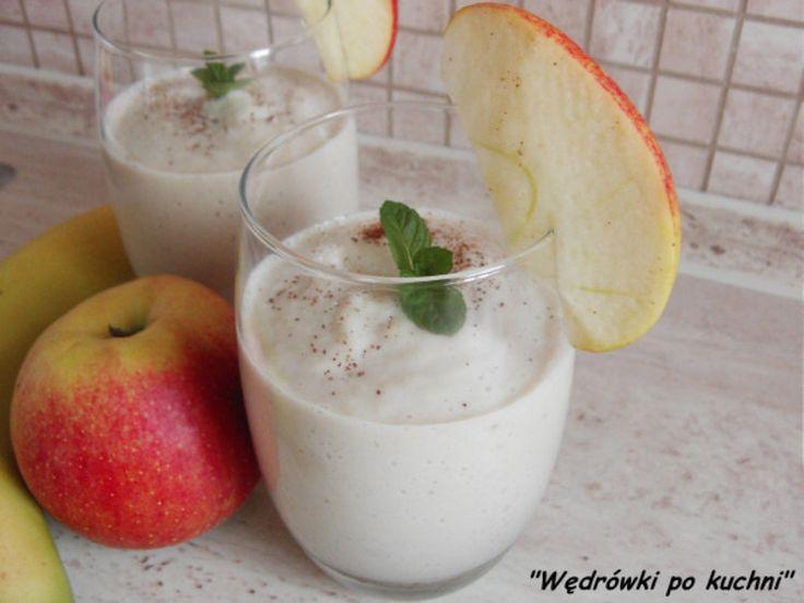 Koktajl jabłkowo-bananowy