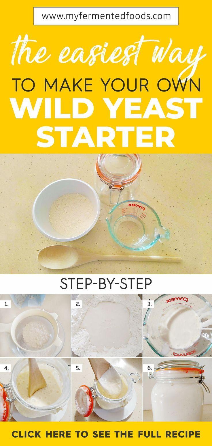 Erfahren Sie, wie Sie einen Sauerteigstarter von Grund auf aus Mehl und Wasser herstellen. …   – Gut Healthy Foods