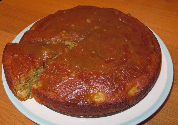 Pear and Ginger Cake, Pear and Ginger Glaze Cake, Easy, Baking, Cake, Recipe,