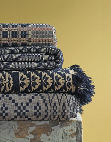 Early 19 century coverlets...wool & cotton